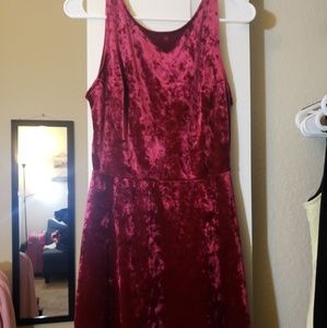 Red dress,  never been used